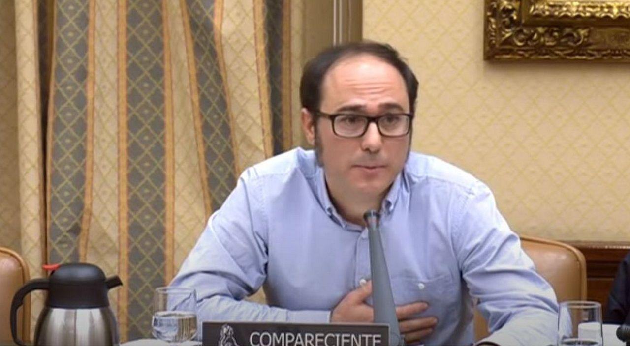 Daniel de Frutos, gerente de Podemos