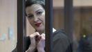Maria Kolesnikova fue detenida hace casi un año durante las protestas.