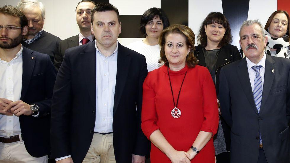 La nueva junta directiva de Hostelería Compostela tomó posesión ayer en su sede.