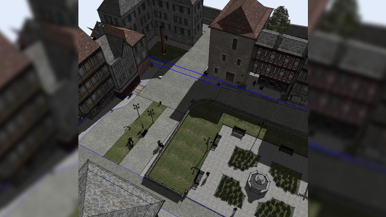 En este juego se simula un paseo virtual en el que el paciente luego tiene que recordar los elementos que se va encontrando a su paso