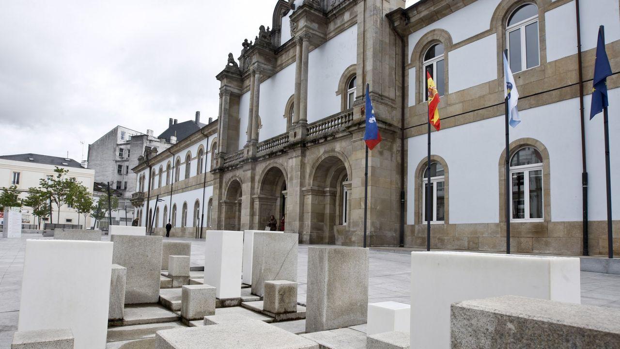 Exterior de la sede de la Diputación Provincial de Lugo