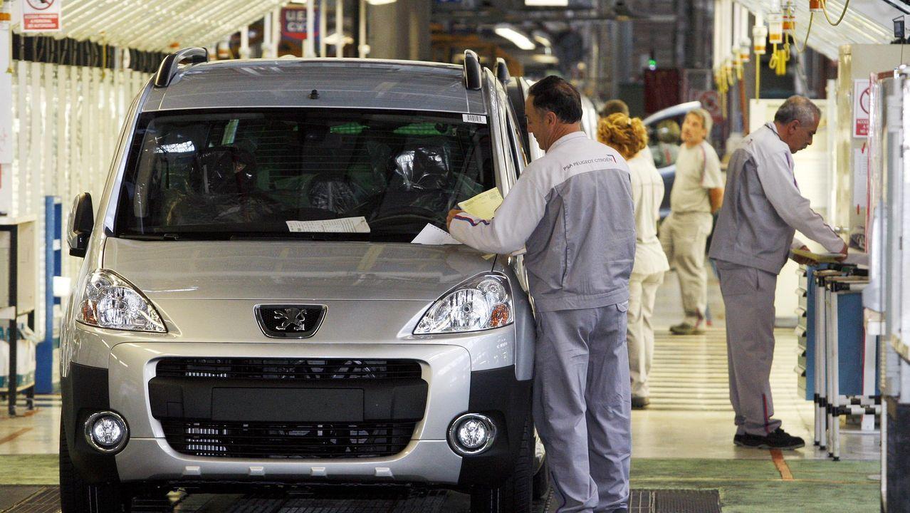 Fábrica de PSA Citroen en Vigo