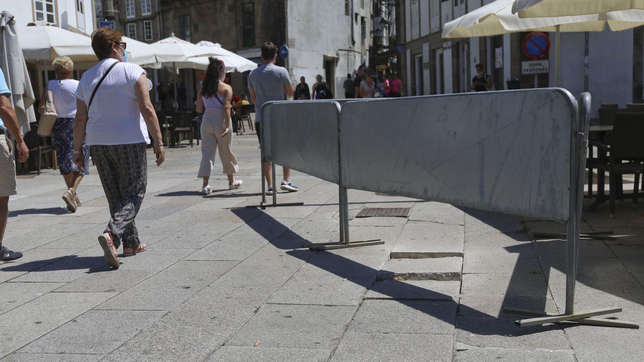 Empiezan a reparar las losas del casco histórico