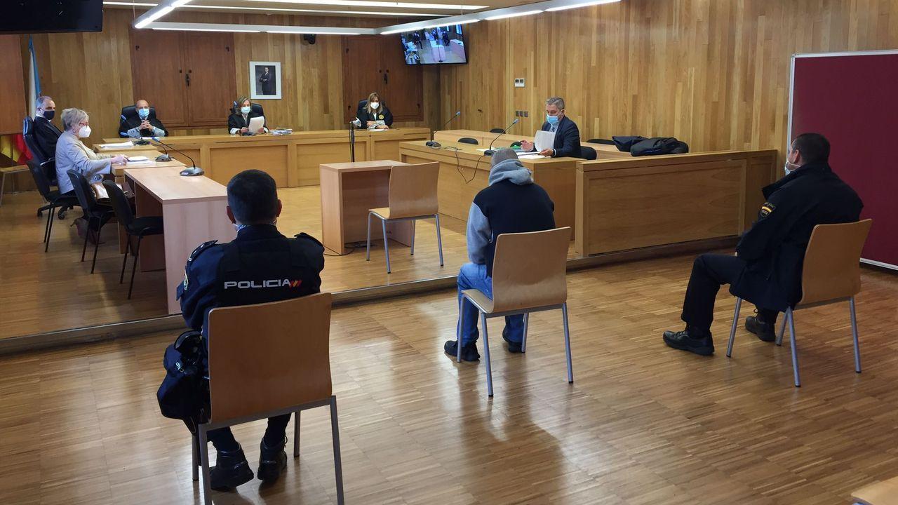 El juicio duró apenas cinco minutos