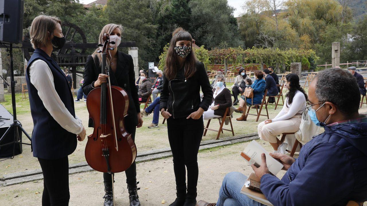 sello Margarita Salas.Imagen de la pasada edición del Festival de Xardíns