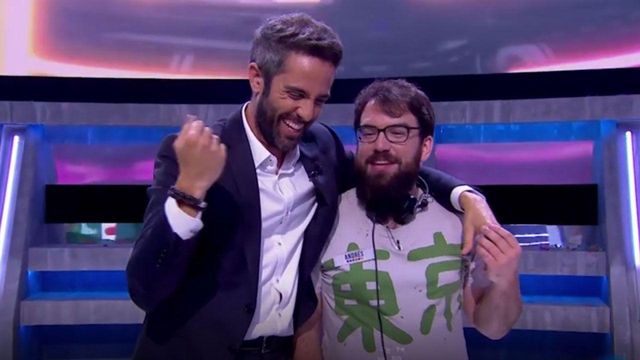 Andrés Suárez, el mierense ganador del programa de TVE «Vaya Crack»