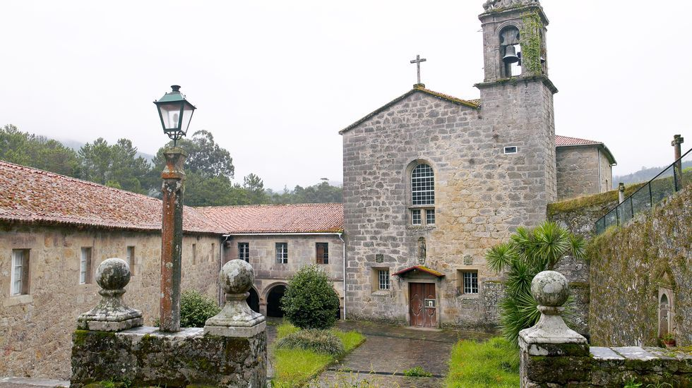 Convento franciscano de Santo Antón, en Herbón (Padrón)