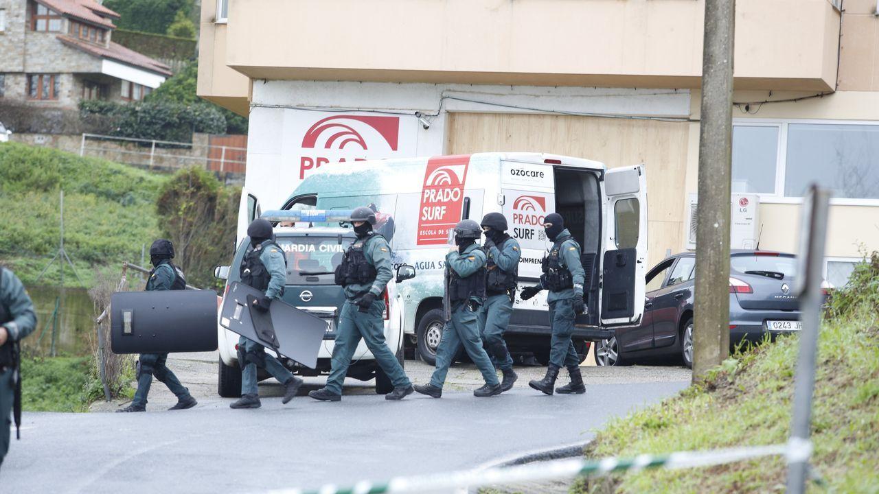 Policia Local de A Coruña.