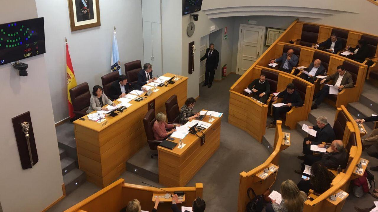 La visita de Pedro Sánchez a A Coruña, en fotos.El alcalde de Carballo, Evencio Ferrero