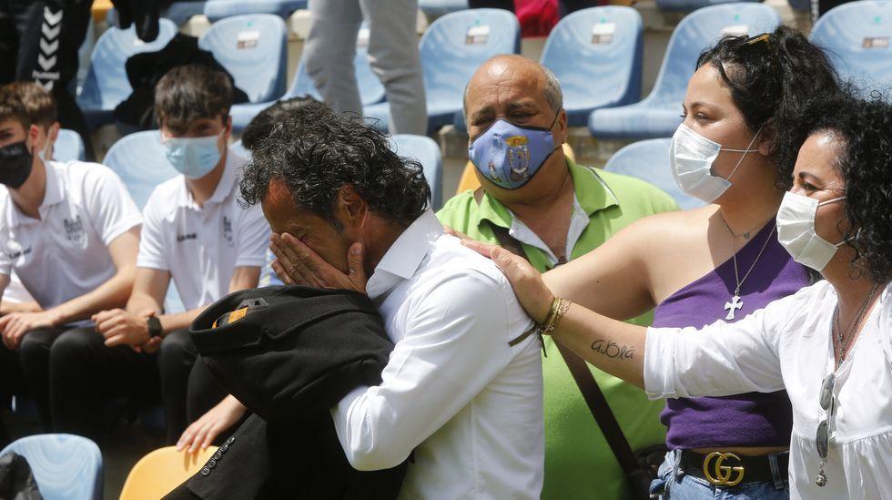 Las imágenes del partido entre el juvenil del Pontevedra y el Alondras.Emilio Cañedo