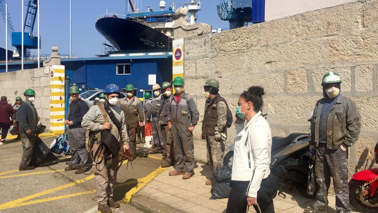 Freire manda a todos sus trabajadores para casa ante el riesgo por coronavirus.Imagen de archivo de las instalaciones de Cándido Hermida en su sede de Río do Pozo
