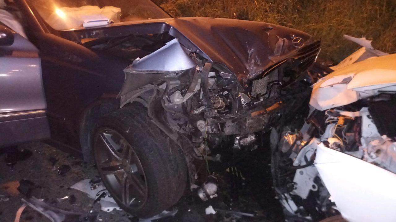 Avilés, Tabaza, kamikaze, autovía del Cantábrico.Una conductora que circulaba en dirección contraria por la A-8 provoca un accidente