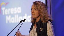 La portavoz del PP en la Junta General, Teresa Mallada