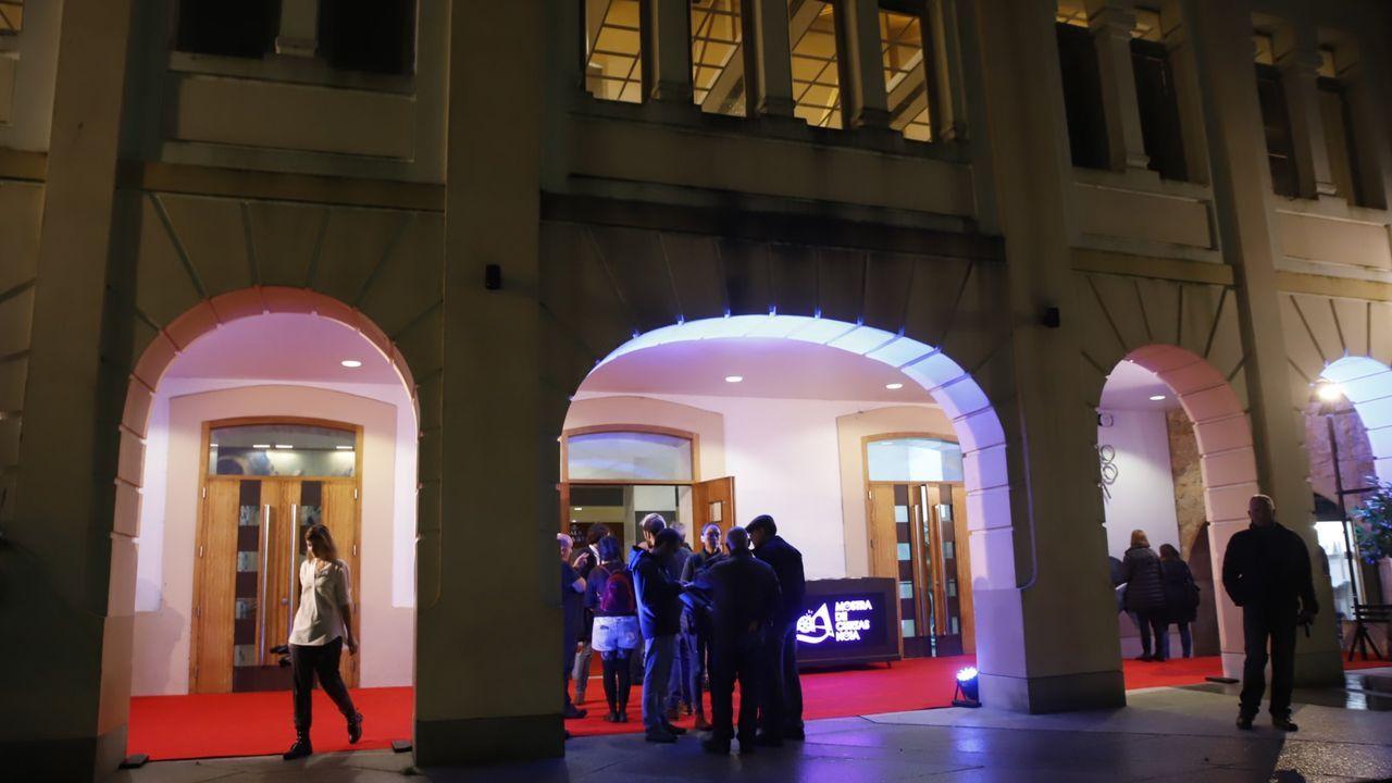 La MITvuelve a llenarde teatro Ribadavia.El compositor italiano Ennio Morricone mientras asiste a una ceremonia por la apertura del año académico de la Academia de Bellas Artes de Brera, en Milán, Italia