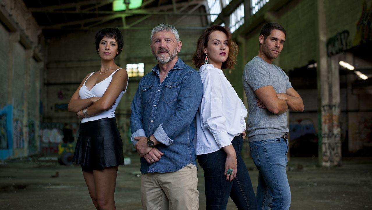 A Coruña se llama Ardora en la televisión.Paula Cereixo y Nacho Nugo, formados en la Escuela de Ficción, participan ahora en «A Estiba»
