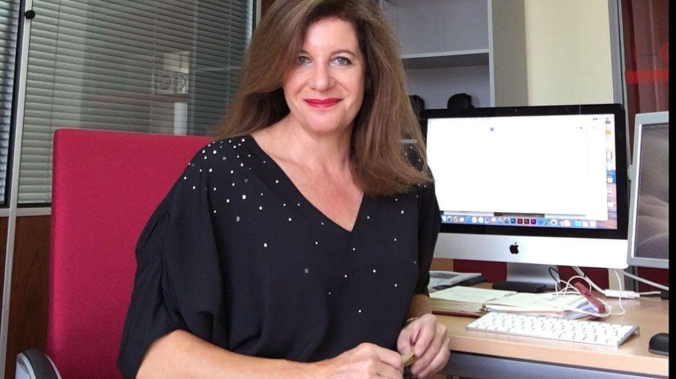 La responsable de Comunicación de UGT Asturias, Carmen Caballero.La responsable de Comunicación de UGT Asturias, Carmen Caballero