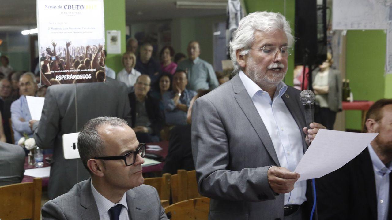 Jesús Vázquez y Rosendo Fernández, en una foto de archivo