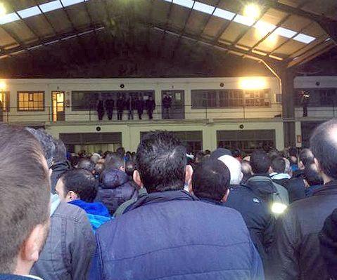 Entrega de premios regata Ramiro Carregal.Los trabajadores analizaron el suceso en una asamblea.