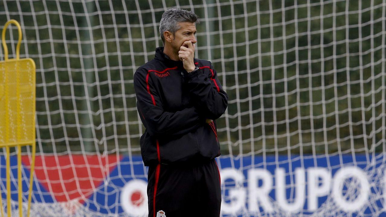 El Zaragoza-Deportivo en imágenes