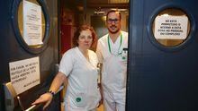 Enma Rodríguez y Martín Méndez, enfermeros de profesión, comparten su visión