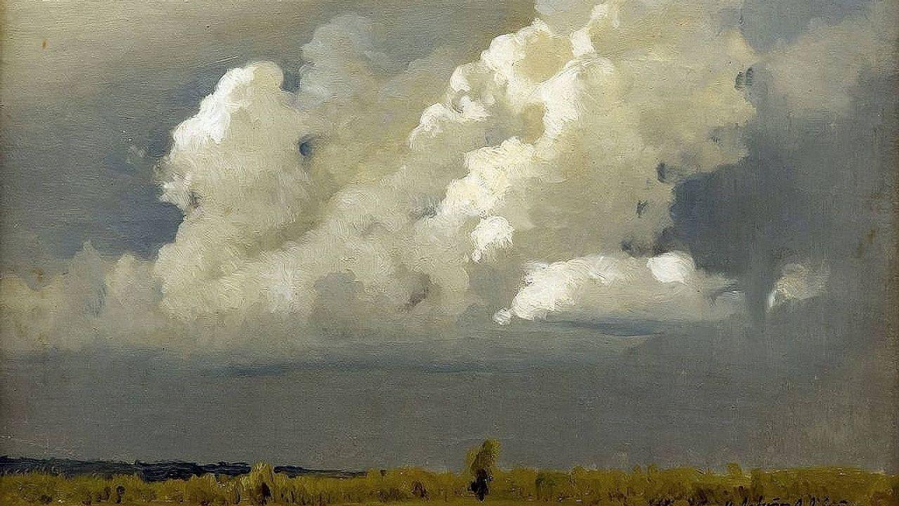 acuario.«Antes de la tormenta» (1890), de Isaak Levitan, Museo de Artes Aplicadas de Smolensk (Rusia)