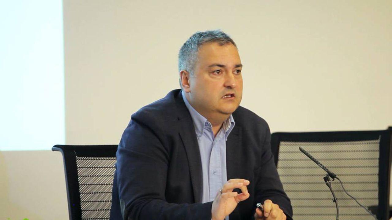 El director general de Vivienda, Fermín Bravo