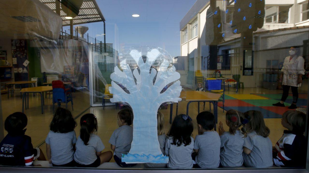 Un aula de infantil en el Colegio Internacional Eirís