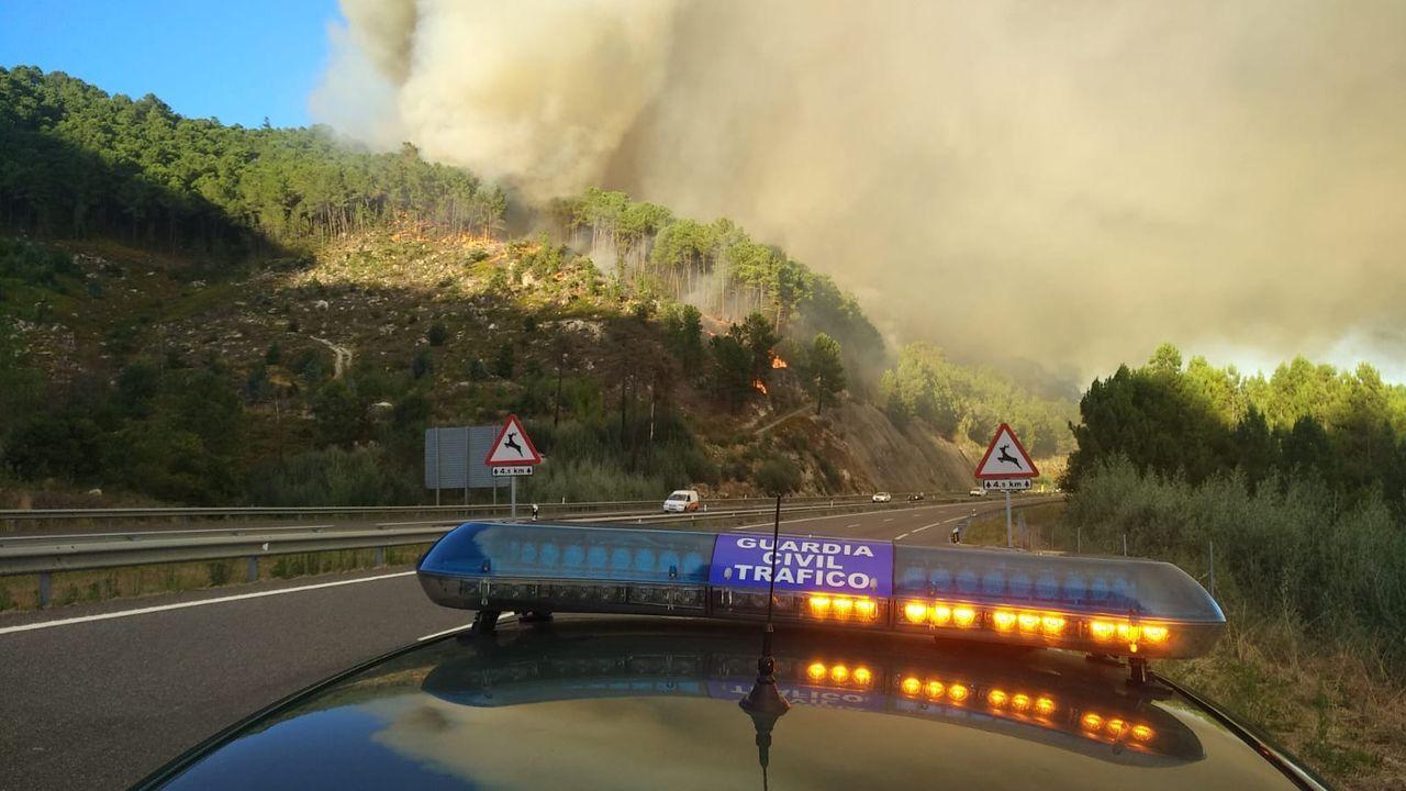 La Roja aterriza en Asturias.Foto del puente de Rande seleccionada como una de las 25 mejores instantáneas de la infraestructura por el premio Autopista del Atlántico y que se expone estos días en Nueva York