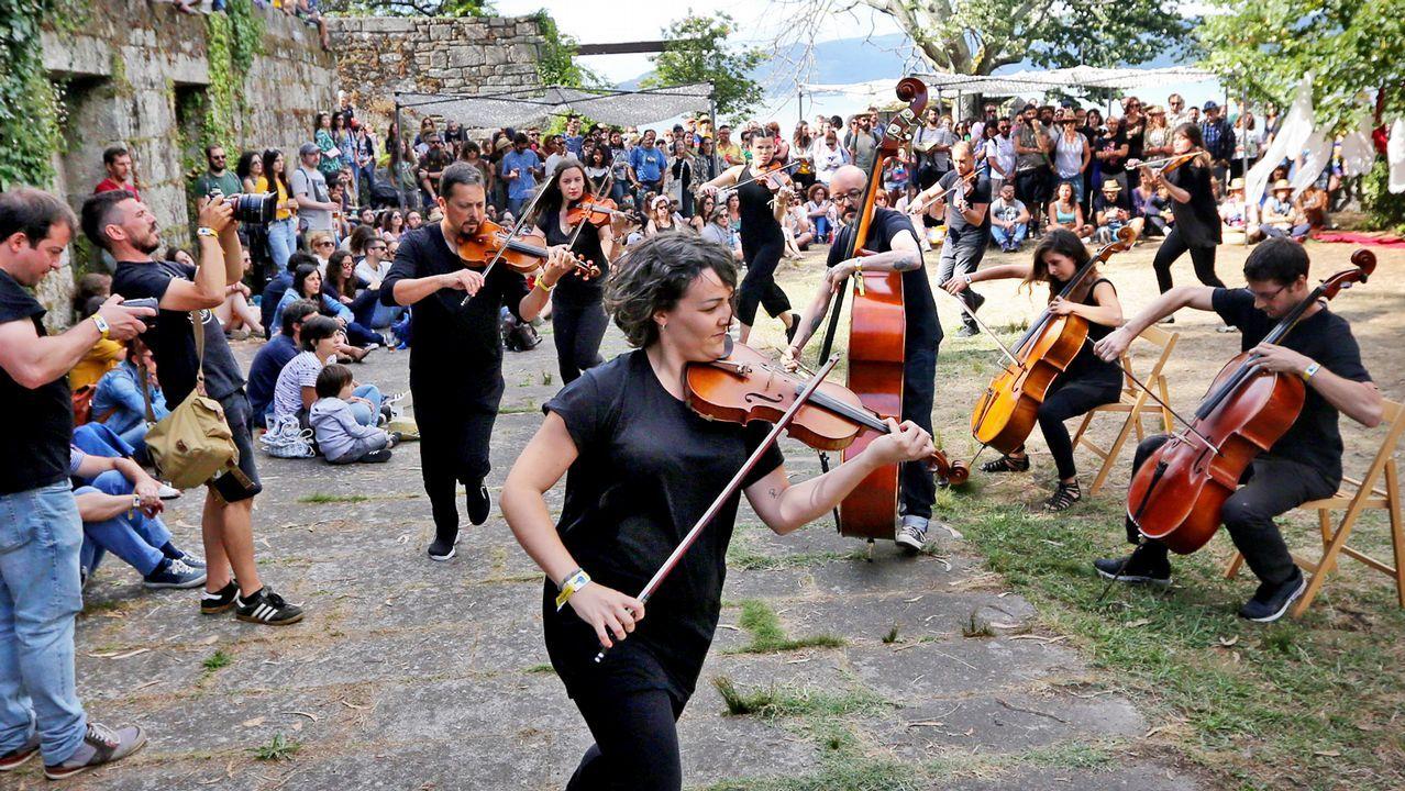 Presentación de FEST Galicia 2019.LA DAME BLAUCHE