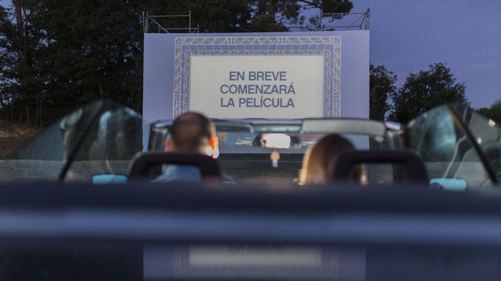 El Concello de A Rúa instalará un autocine en O Aguillón