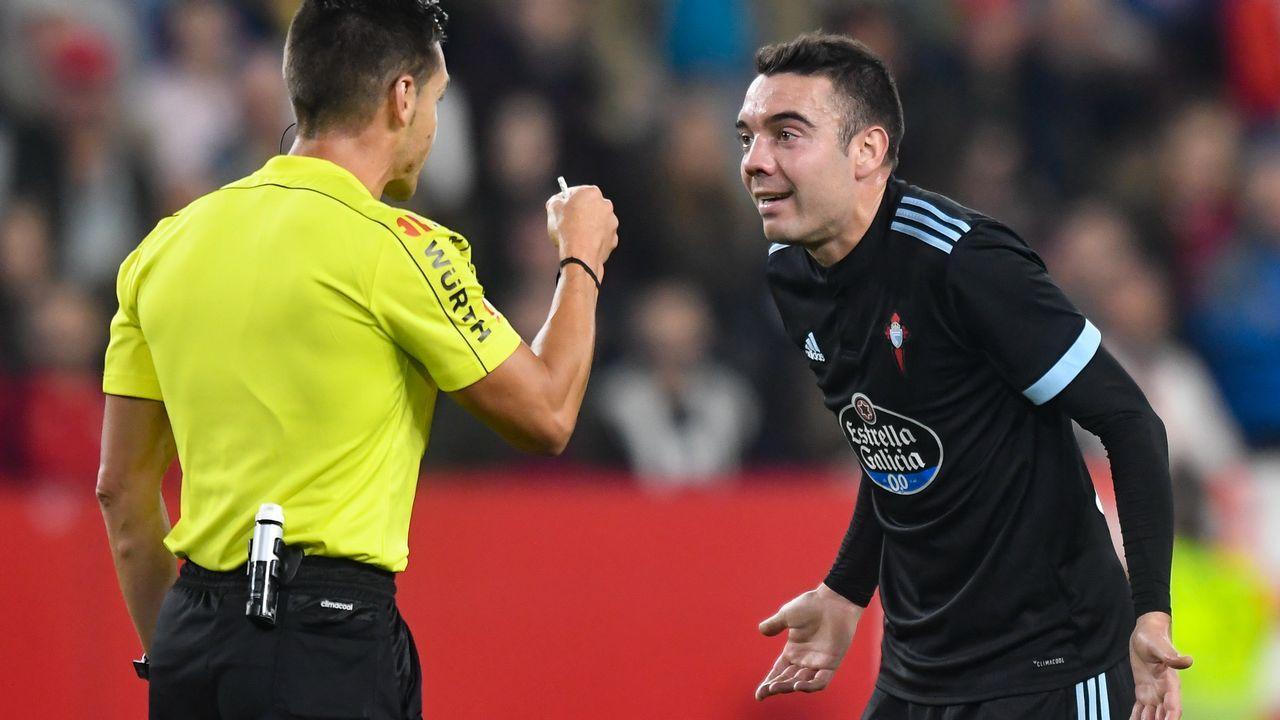 254 - Sevilla-Celta (2-1) de Primera el 18 de noviembre del 2017