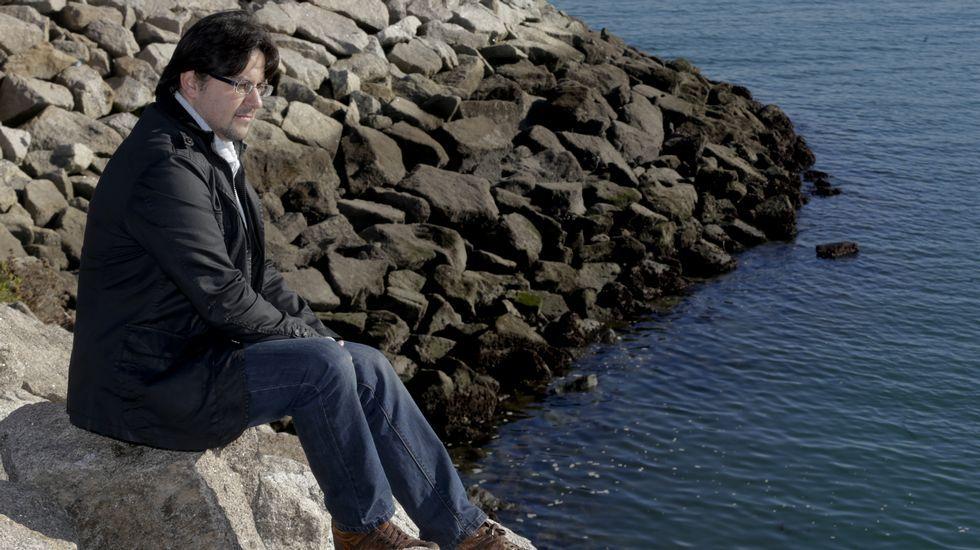 David Fernández Abella lideró la búsqueda de restos de la «Ragazzona» en Ferrol