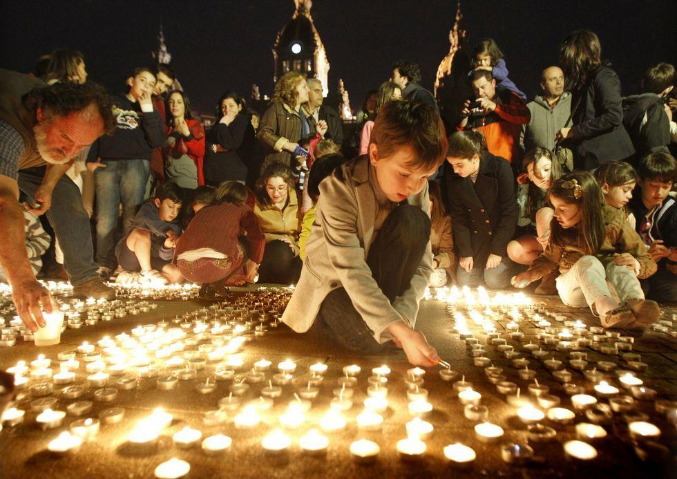 Durante el apagón se encenderán velas en María Pita.