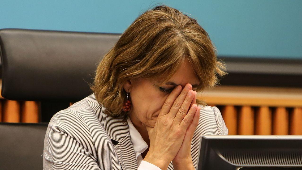 Delgado:  Soy víctima de un presunto delincuente miembro de las cloacas del Estado .Maria Dolores de Cospedal
