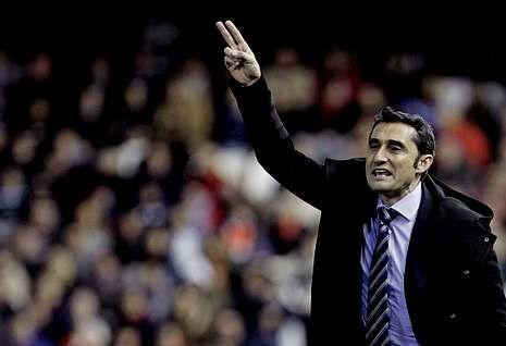 La jornada 23 de Primera División, en imágenes.Ernesto Valverde ha provocado un cambio radical en el conjunto valencianista.