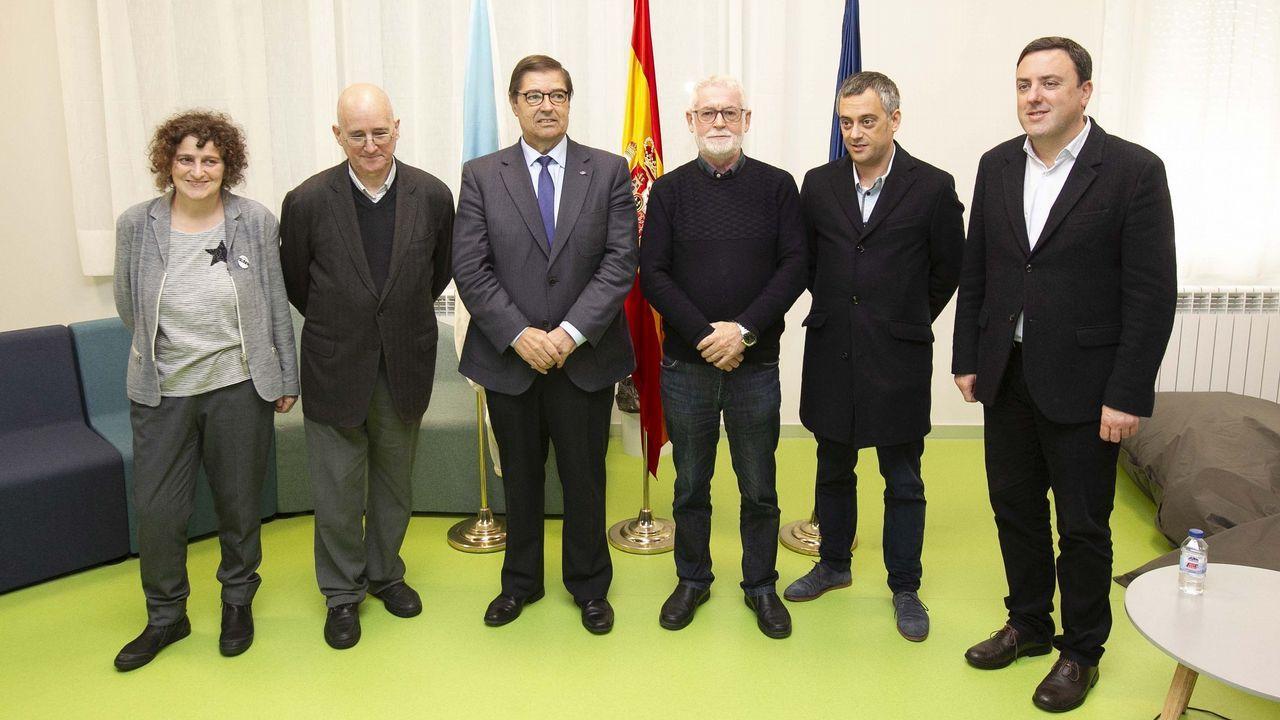 Julio Abalde ha mantenido la estrategia de su predecesor al frente de la UDC