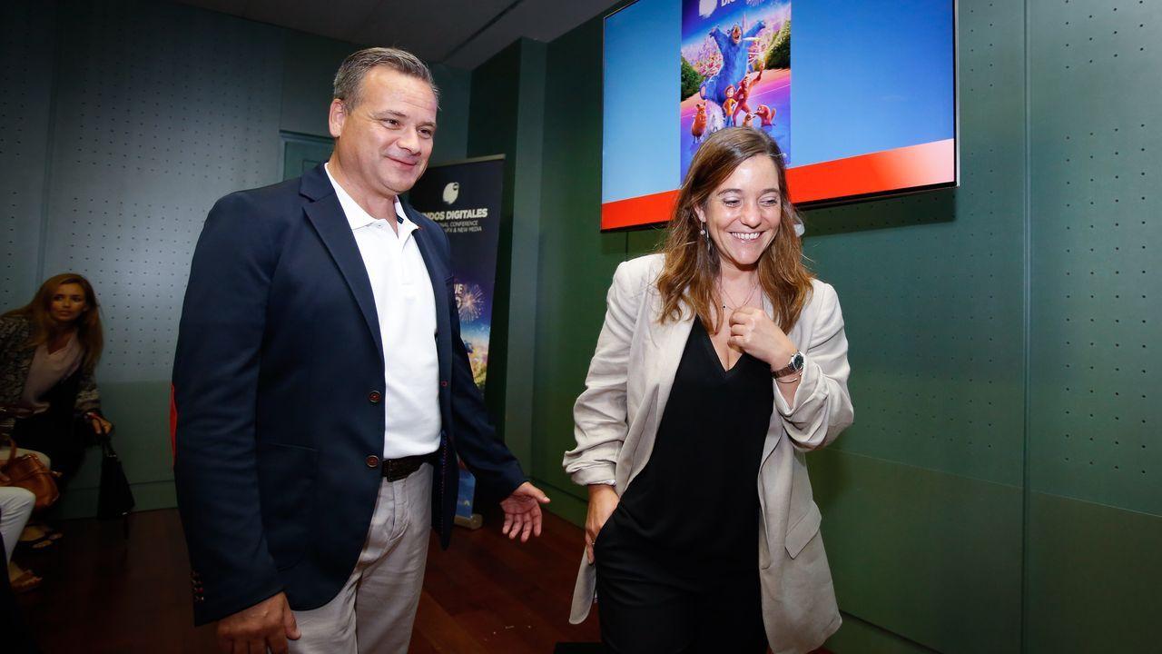 MEIJIDE.Manuel Meijide e Inés Rey presentan el congreso  Mundos Digitales