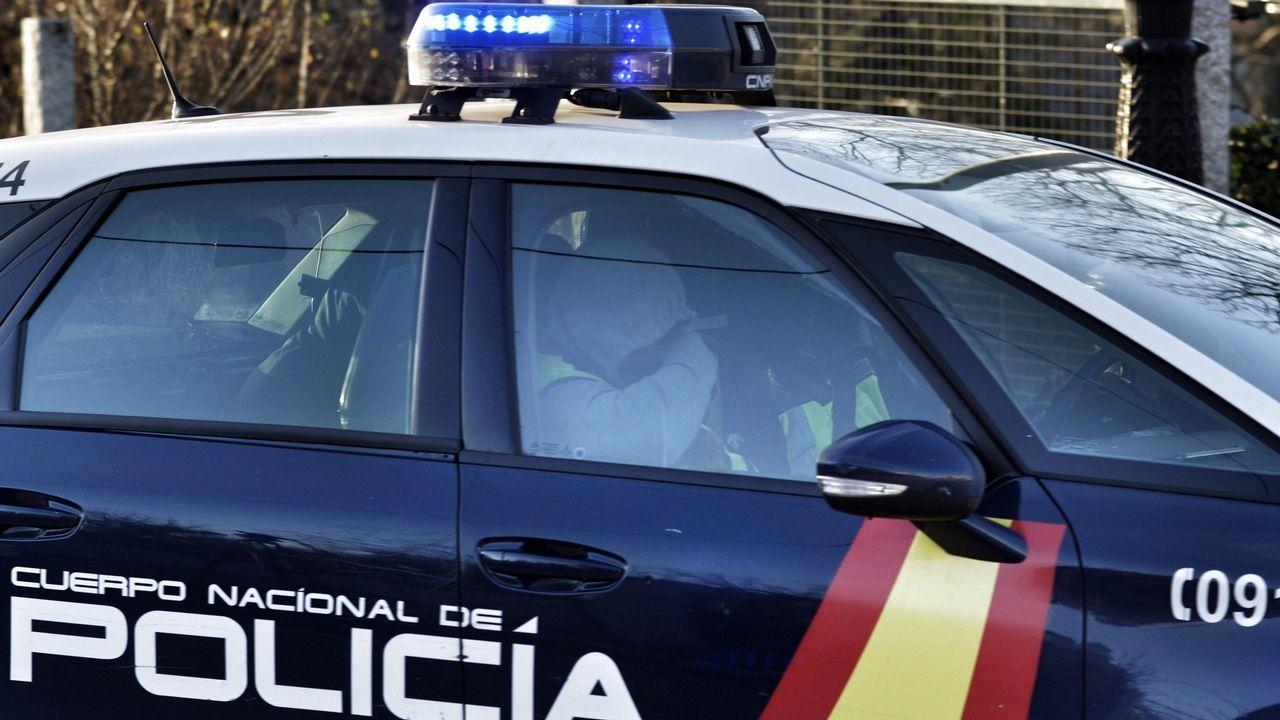 Violento atraco en Tarragona... para obtener 145 euros.Tania Varela, durante su declaración en la Audiencia de Pontevedra, en una imagen de vídeo