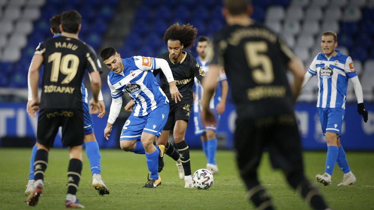 Álex Barba debutó en Copa frente al Alavés