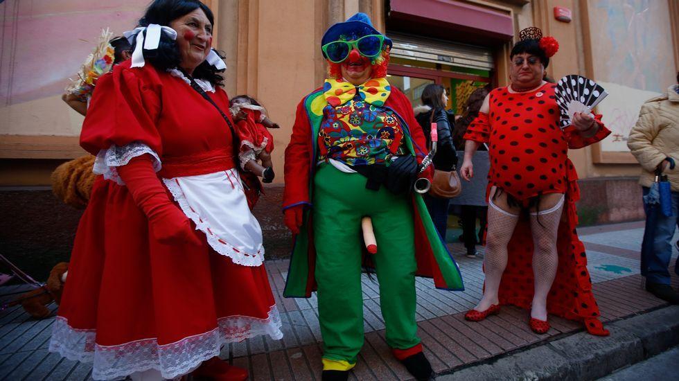 Festa choqueira en A Coruña.