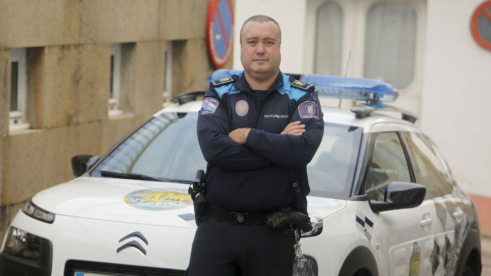 Alberto Díaz, jefe de la Policía Local de Cedeira