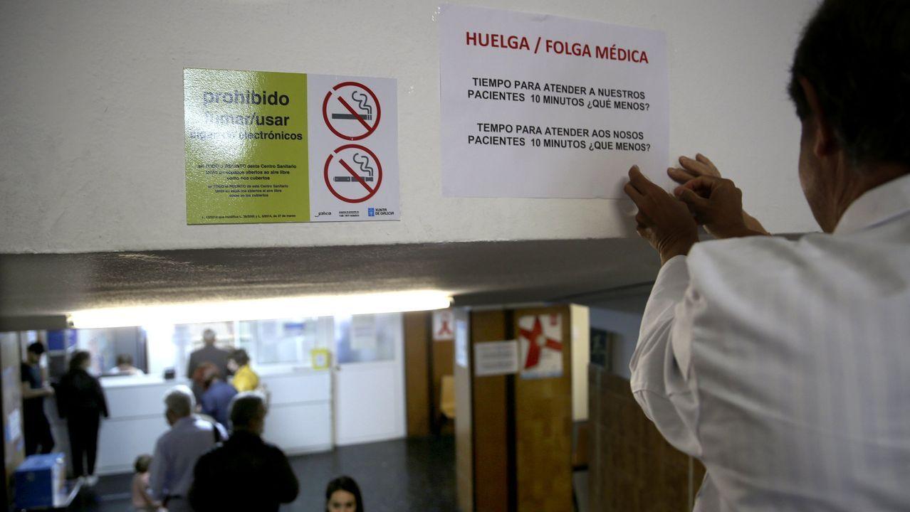 Las manifestaciones en Galicia contra el cierre del paritorio de Verín, en imágenes.CHUAC