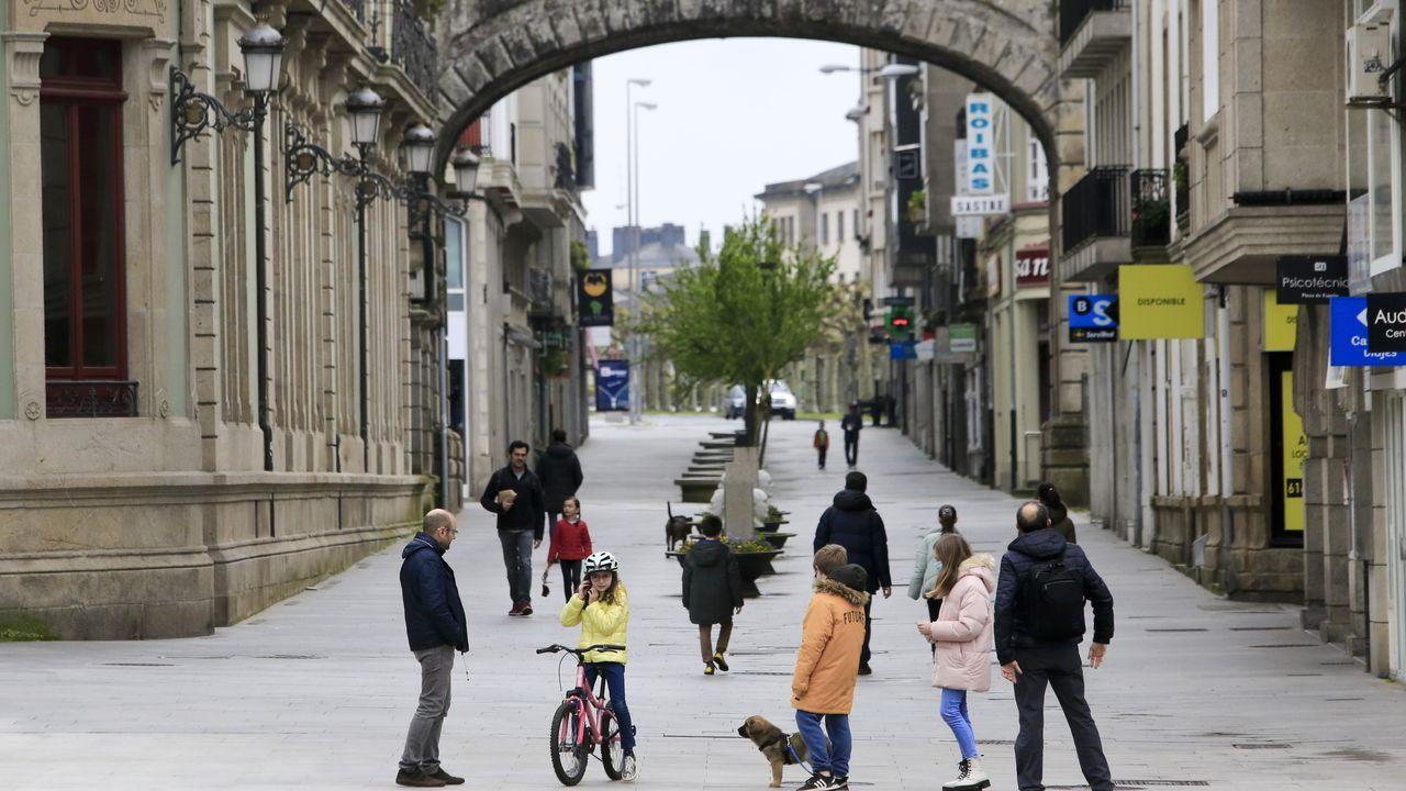 Los niños lucenses volvieron a salir a las calles de la ciudad