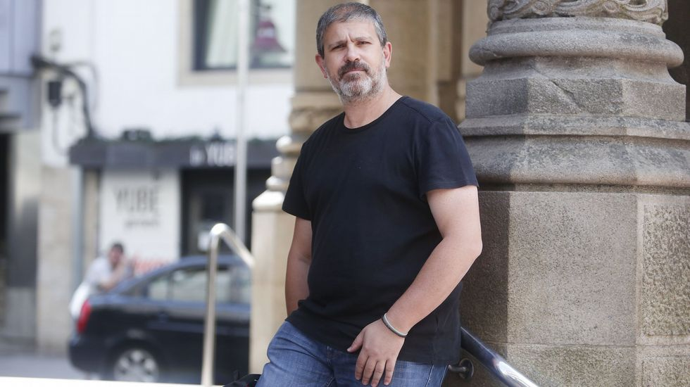Rogelio Carballo, presidente de las familias de Confapa, asociación vinculada a la escuela pública y agrupada en Ceapa a nivel nacional
