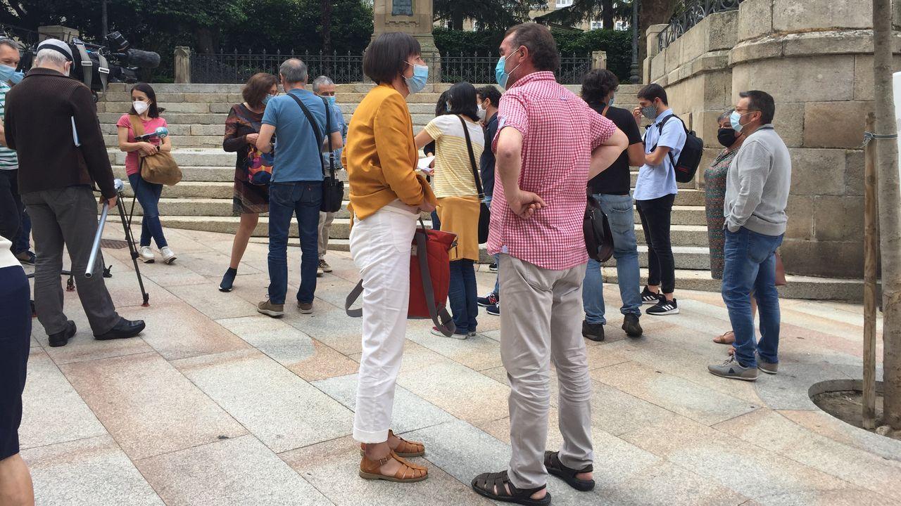 Los nacionalistas sacaron pecho del gobierno de Evencio Ferrero en Carballo