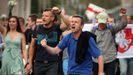 Manifestantes en Bielorrusia movilizándose contra el Gobierno y la represión policial