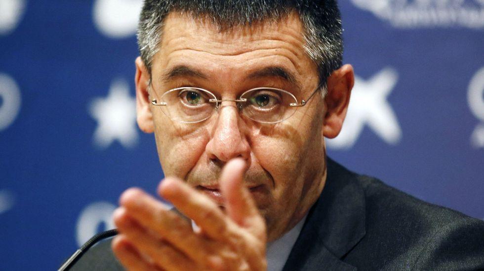 Algunos de los implicados en las tramas de corrupción de la FIFA.Neymar, el martes en Múnich