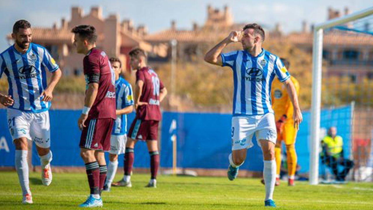 El Celta B-Oviedo B, en imágenes