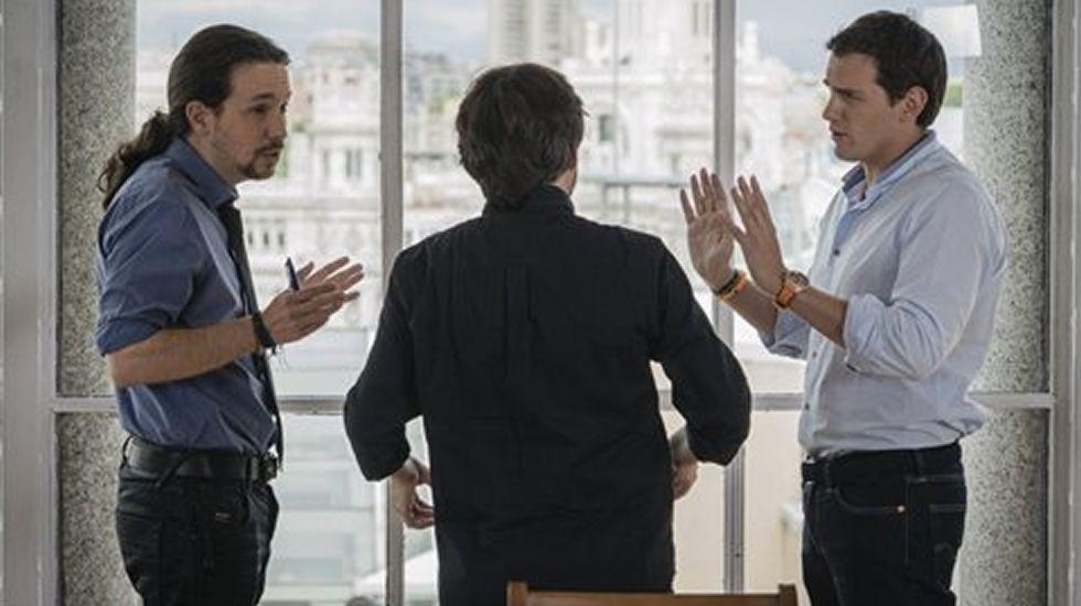 Los mejores momentos delagriocara a cara entre Iglesias y Rivera
