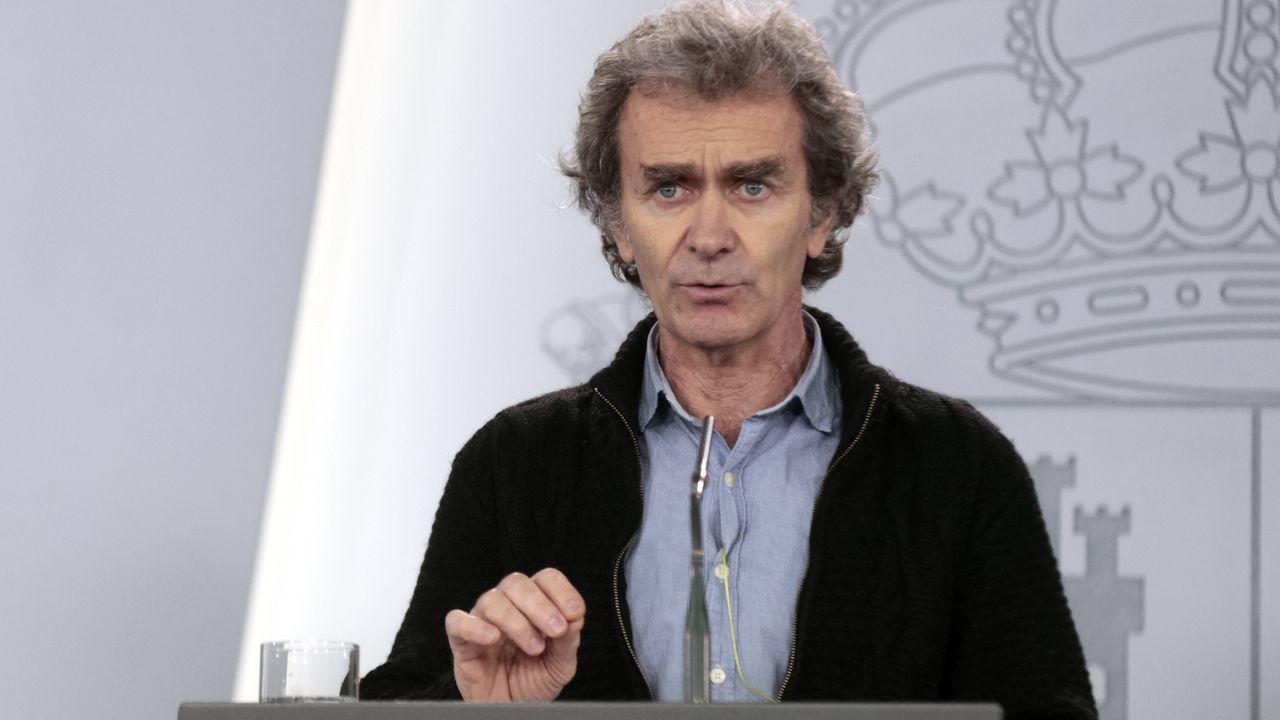 Fernando Simón, en una rueda de prensa